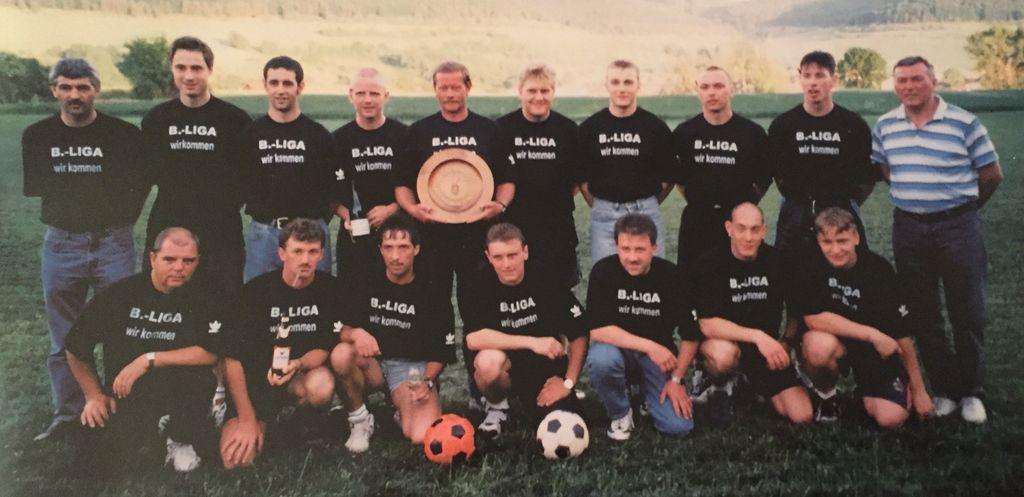 Aufsteiger von 1997 in die Bezirksliga